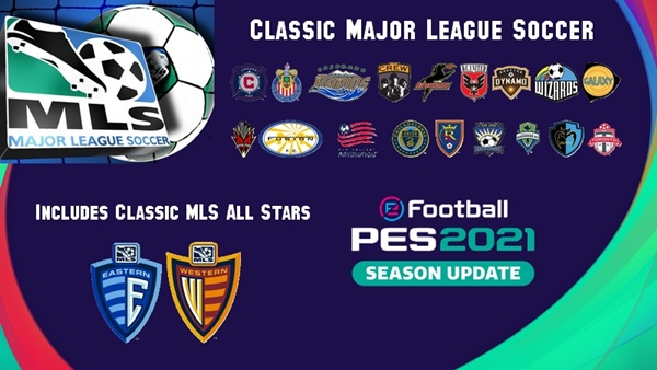 Classic Major League Soccer MLS PES 2021 - by PES Buck