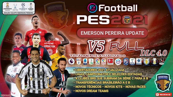 Emerson Pereira Option File PES 2021 PS5 y PS4