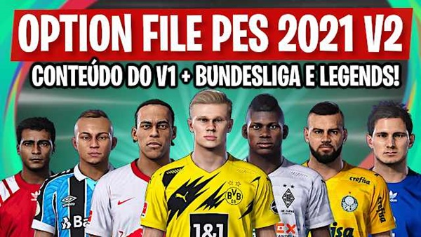 Option File PES 2021 PS4 - by Pes Vicio BR