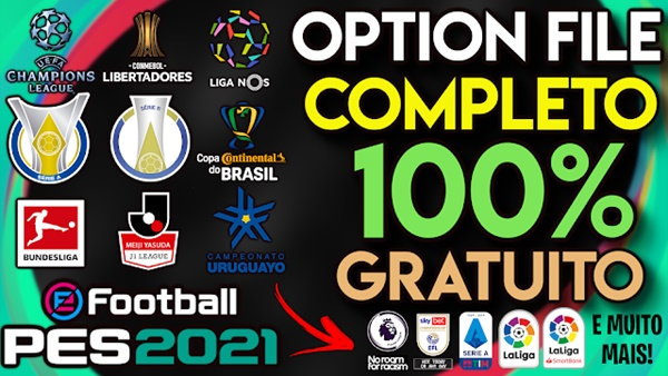 Option File V4 PES 2021 PS4 - by Pes Vicio BR
