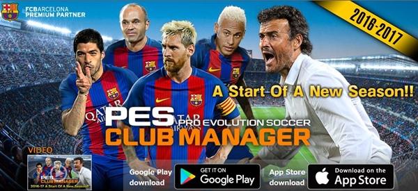 PES CLUB MANAGER: Actualización con nuevas licencias de clubes y ligas