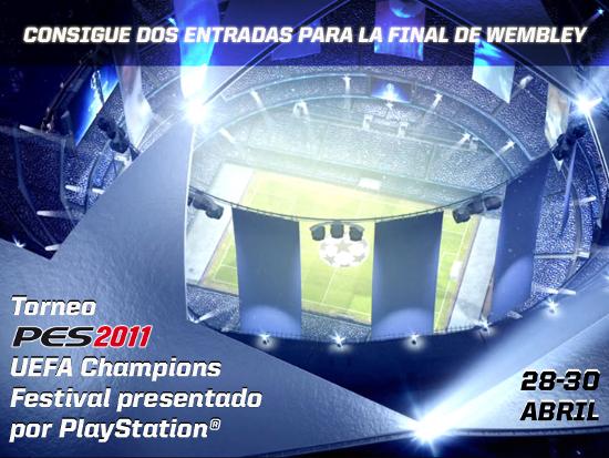 Ultimas plazas torneo PES2011 UEFA Champions Festival