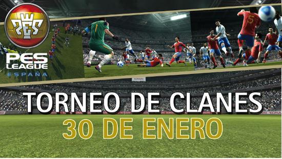 Participa en el primer torneo de clanes de PES2012
